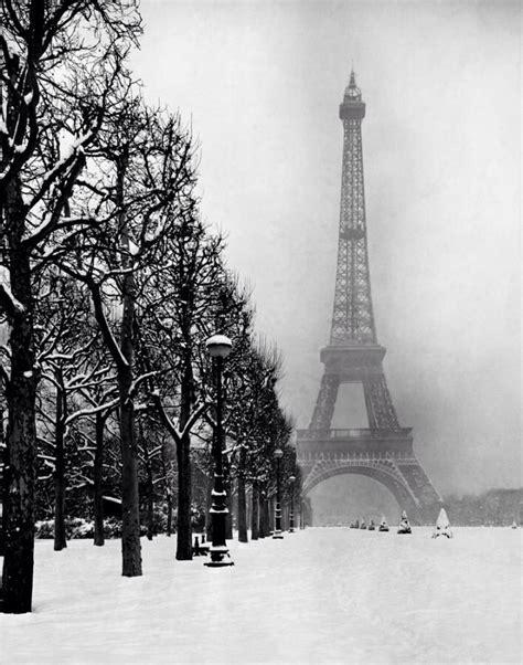 eiffel tower   snow paris landmarks paris eiffel