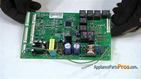 refrigerator main control board part wrx