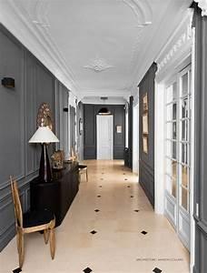 inspiration appartement haussmanien pamela gallart With couleur pour un couloir 13 j e s e peinture proprietaires