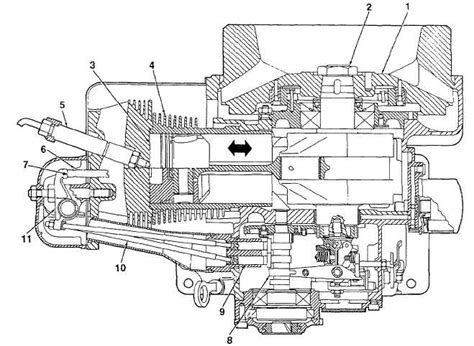Figure 1-9. Engine Combustion Cycle (top View Cross Section