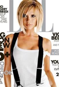 Victoria Beckham Blonde Bob Hairstyle
