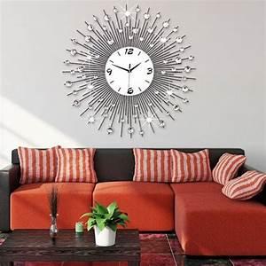 Grande Horloge Murale Design : horloge murale salon design la54 jornalagora ~ Nature-et-papiers.com Idées de Décoration