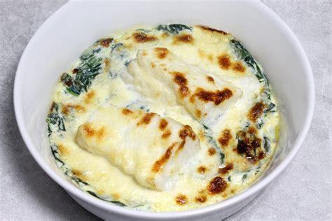 ecole de cuisine paul bocuse recette de gratin de poisson aux épinards par alain ducasse