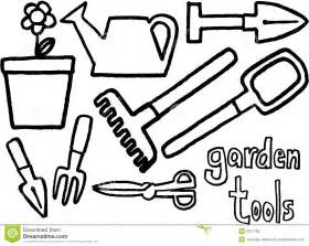 Garden Tools Coloring Pages
