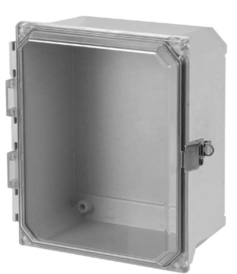 electrical junction box cover type 4x polyester junction box solid and clear cover 7040