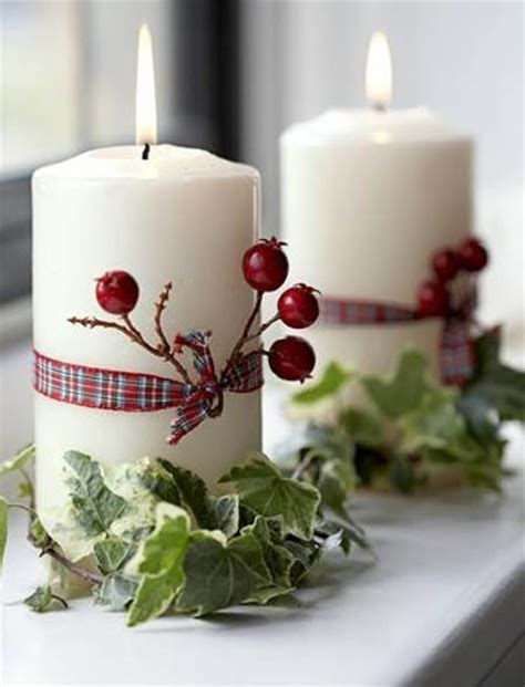 magical christmas candle decorating ideas  inspire