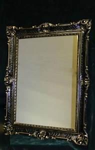 Barock Spiegel Xxl : wandspiegel barock xxl spiegel schwarz gold hochglanz 90x70 antik rahmen kaufen bei pintici ~ Frokenaadalensverden.com Haus und Dekorationen
