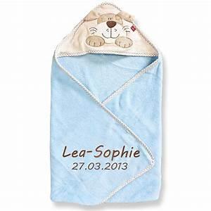 Baby Badetuch Mit Namen : kapuzenhandtuch mit namen bestickt 76x80 cm handtuch baby geschenk zur geburt ba ebay ~ Eleganceandgraceweddings.com Haus und Dekorationen