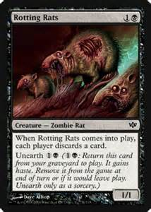 rotting rats the magic the gathering wiki magic the gathering cards decks and more