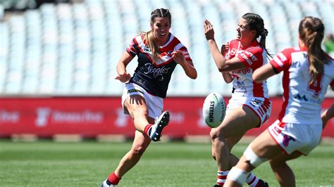 NRLW: Sydney Roosters star Charlotte Caslick ruled out of ...