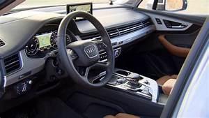 Audi Q7 Interieur : audi q7 e tron quattro int rieur youtube ~ Nature-et-papiers.com Idées de Décoration