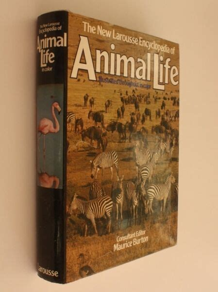 maurice burton ed   larousse encyclopedia  animal life hc ebay
