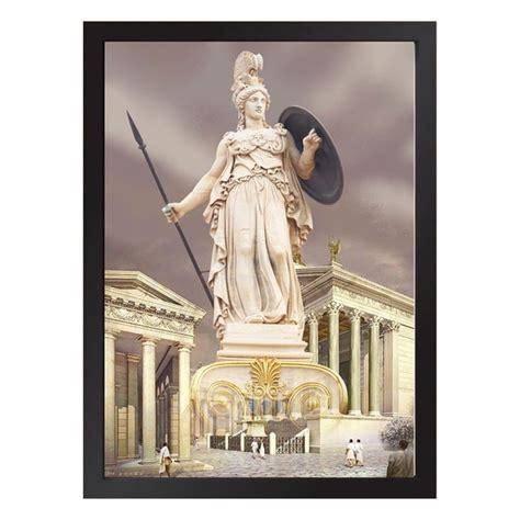 Quadro da Deusa Athena Mitologia Grega no Elo7   Quadro Séries (14676D6)