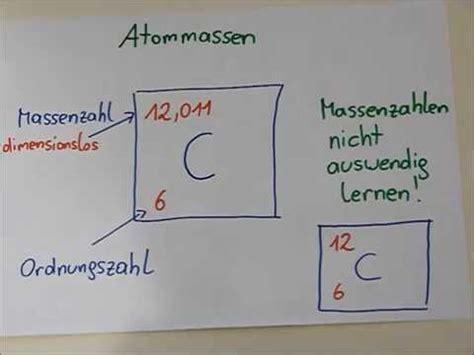 atommasse einfuehrung begriffe berechnung von ho und