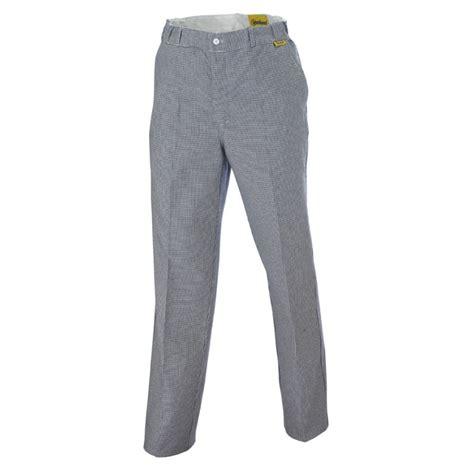 pantalon pied de poule cuisine pantalon de cuisine molinel ecole apprenti cfa