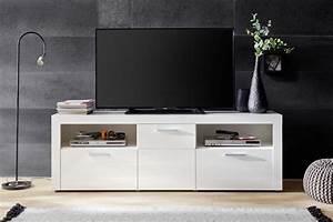 Fernsehtisch Weiß Hochglanz : tv lowboard kito hochglanz wei 178 x 59 cm ~ Yasmunasinghe.com Haus und Dekorationen