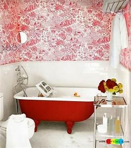 Petite Baignoire Retro : baignoire ancienne pour une salle de bains retro design ~ Edinachiropracticcenter.com Idées de Décoration