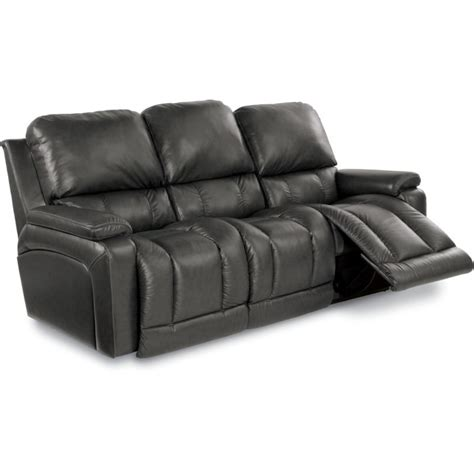 Settee Collection by Greyson La Z Time 174 Leather Reclining Sofa Collection