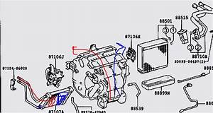 Need Diagram Of Heating System For 2005 Camry 2 4 Heating