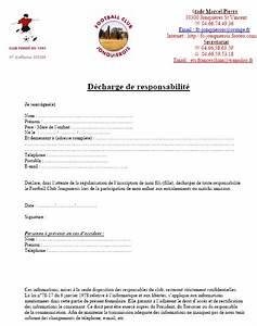 Lettre De Decharge Vente Automobile : d charge parentale club football football club jonquierois footeo ~ Gottalentnigeria.com Avis de Voitures