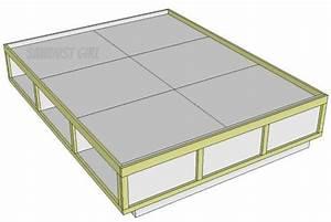 Plans to build Storage Bed Frame Queen Diy PDF Plans