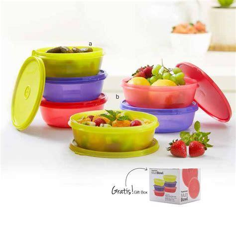 multi bowl tupperware tupperware indonesia promo