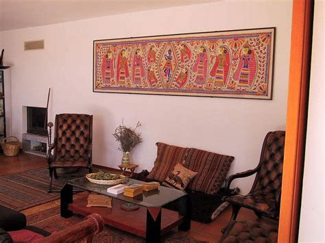 Decoration Home Ideas: Ever Thought Of Using Traditional Madhubani Paintings As