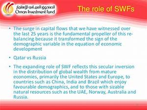 The role of SWF in Global Finance