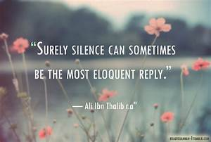 Silent Quotes A... Smile N Silence Quotes