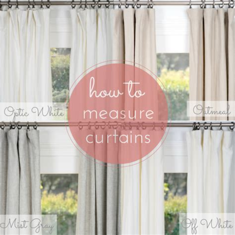 How To Measure For Pinch Pleated Drapes - how to measure for curtains draperies rod pocket