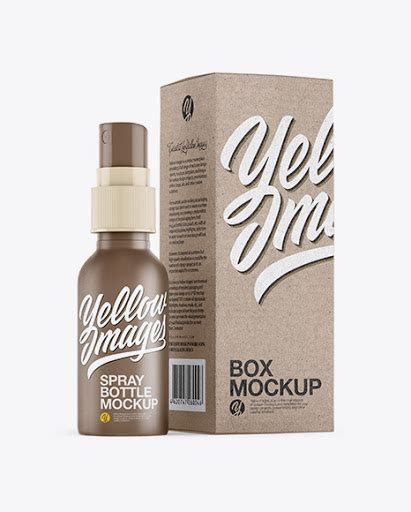 While many use dull mailing boxes product packaging box psd mockup for free. Matte Spray Bottle with Kraft Paper Box PSD Mockup