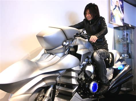 How Badass Is This Life-sized Anime Motorcycle? Totally