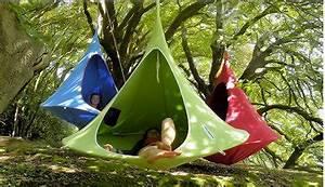 Accrocher Hamac Arbre : hamac et balancelle petit plaisir original du jardin ~ Premium-room.com Idées de Décoration