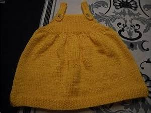 tuto tricot robe 3 mois bebe youtube With tuto tricot robe bébé