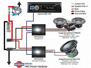 Auto Stereo Car Speaker Wiring Diagrams