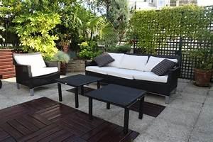 photo terrasse balcon veranda et appartement deco With idee deco terrasse appartement