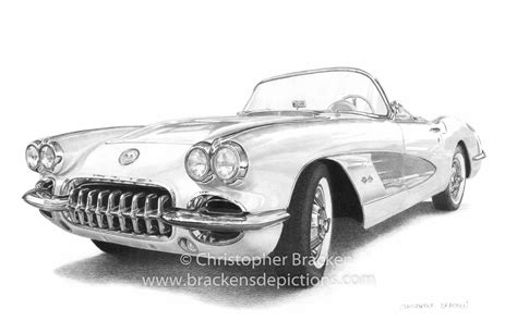 gallery beautiful pencil sketch  sports cars
