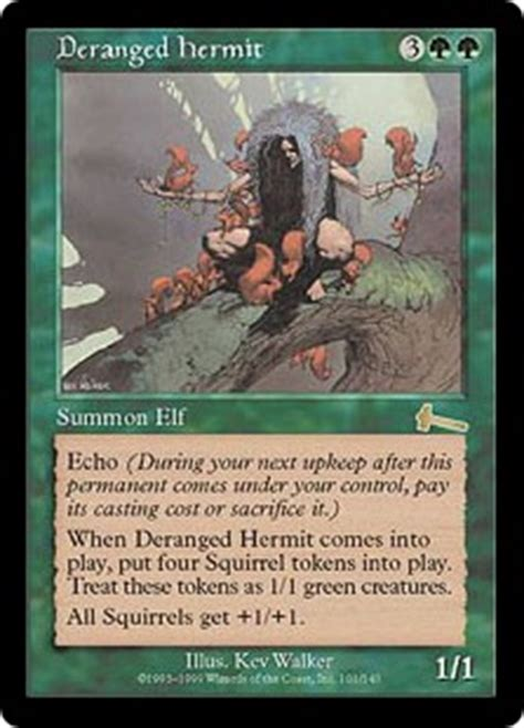 deranged hermit magic card