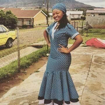 50+ Lesotho shweshwe Dresses 2017 / 2018 u22c6 fashiong4