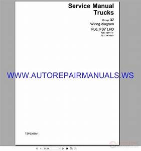 Volvo Fs6-7 Lhd Trucks Wiring Diagram Service Manual Tsp23698