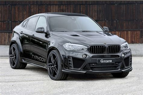G-power Unveils Typhoon Tuning Kit For Bmw X6m, It Has 750