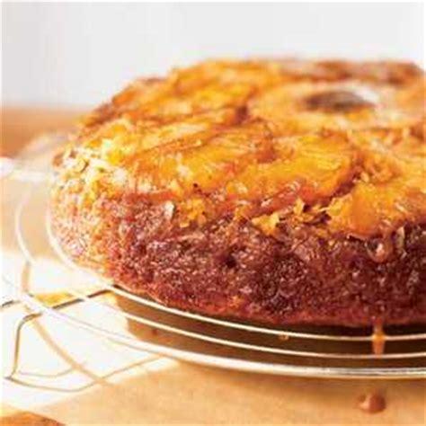 pineapple coconut banana upside  cake recipe myrecipes