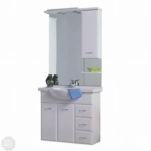 Badezimmer Spiegel Schrank : badm bel lasko badezimmer schrank waschbecken spiegel wei hochglanz beleuchtung ebay ~ Markanthonyermac.com Haus und Dekorationen