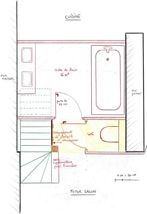 plan d 233 finitif de la salle de bain la maison des