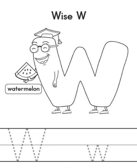 letter w activities free printable letter w worksheets for kindergarten