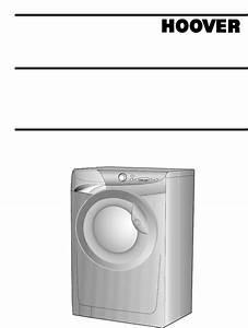 Hoover Washer Washing Machine User Guide