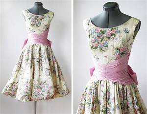 Vintage 50s spring garden party dress by rustbeltthreads for Garden party dresses