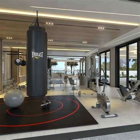 great gym setup  design     homes  miami miami gym design diseno de