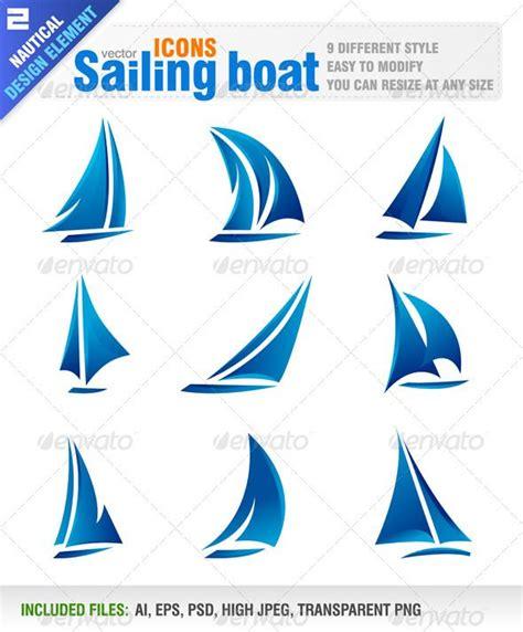 Sailing Boat Elements by Sailing Boat Sailing Boat Boat Design And Design Elements