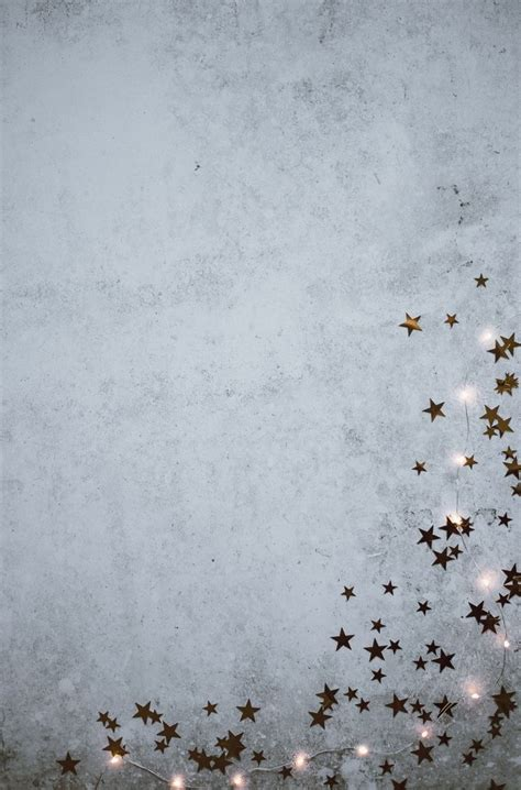 christmas background stars  fairy lights photo